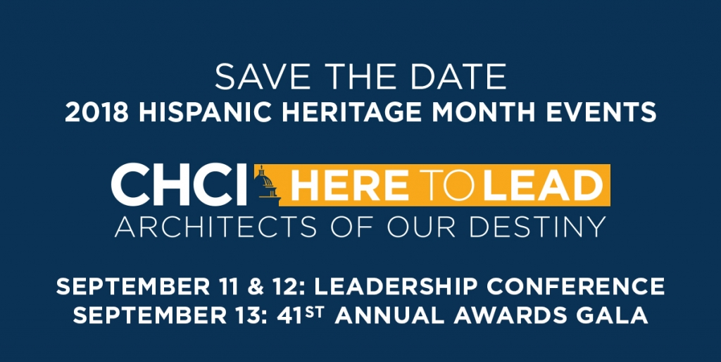 Save The Date 2018 Hispanic Heritage Month Events