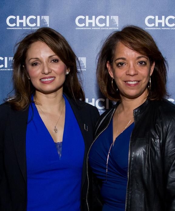 CHCI CEO Domenika Lynch and CEO of the YWCA Alejandra Castillo