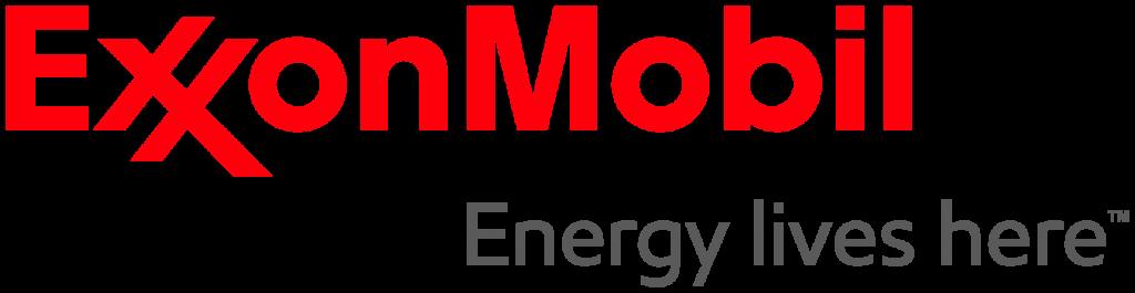 Exxon Mobil PNG Logo Horizontal