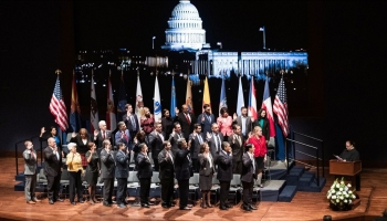 CHCI's Swearing-In Ceremony & Welcome Reception Celebrated The Largest Class Of Hispanic Members Of Congress In History!