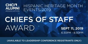 Chiefs of Staff Award Event Information