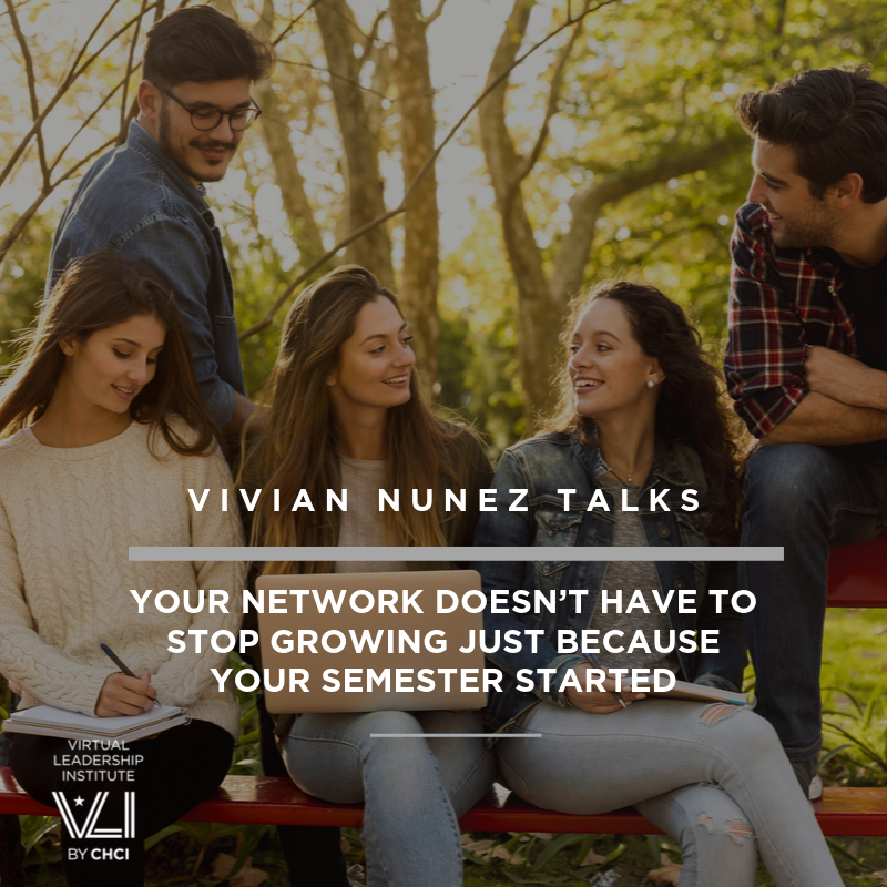 Your Network Doesn't Have To Stop Growing Just Because Your Semester Started
