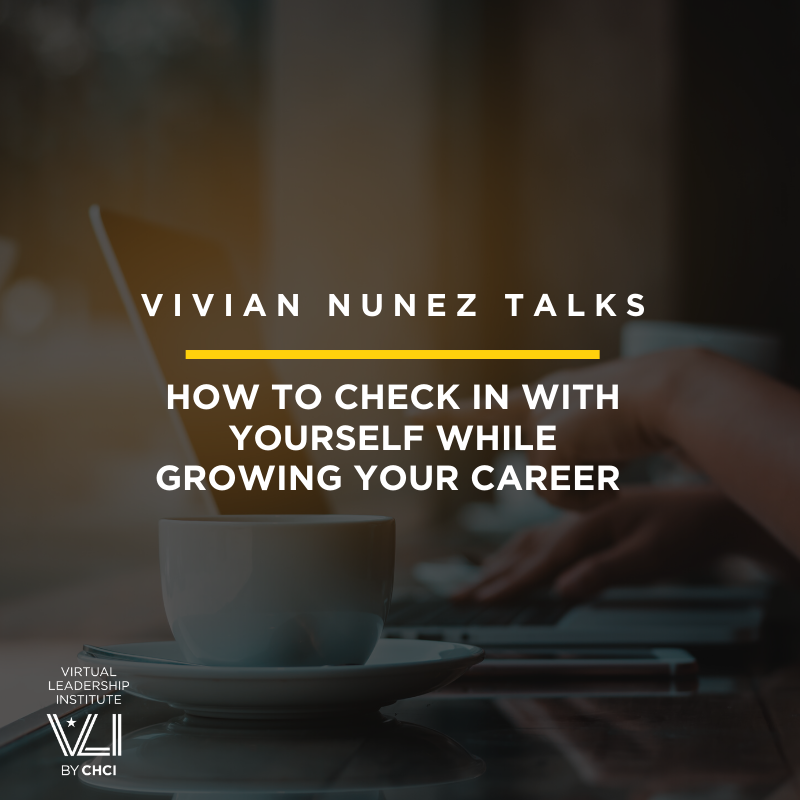 How To Check In With Yourself While Growing Your Career