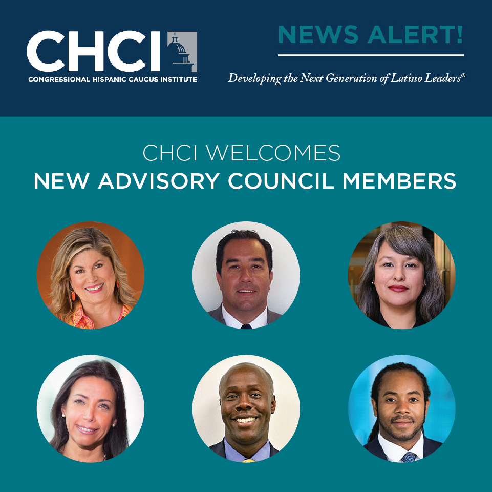 CHCI ANNOUNCES SIX NEW ADVISORY COUNCIL MEMBERS FOR 2020-2021